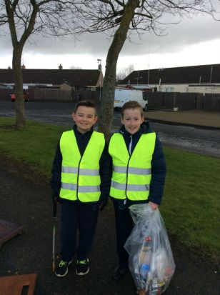 Primary 6's Big Spring Clean