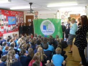 We have achieved our Green Eco Flag!