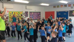 Primary Two and Fitness Freddy are awesome!